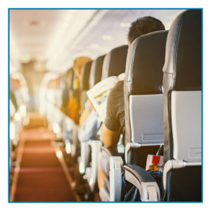 Commercial Cleaning and Office Cleaning North West | SMClean NW | aeroplane aisle